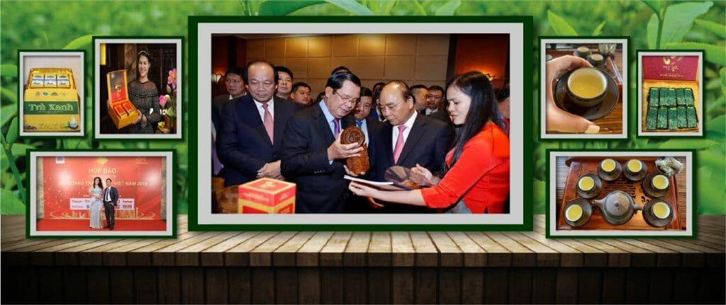 Trà Thái Nguyên sản xuất tại HTX Tâm Trà Thái