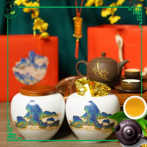 Bộ gốm - trà nõn